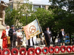 Andy Wade describes the standard of the Keighley Old Contempibles' Association
