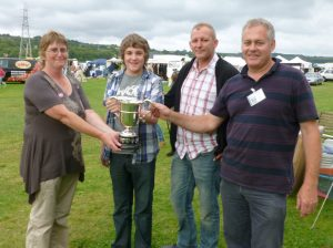 2011 Keighley Show trophy award