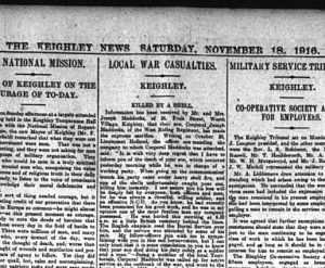 'Local War Casualties' column