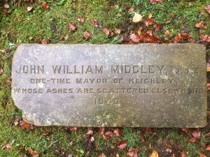 Alderman Midgley gravestone