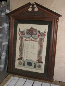 Exley Head Methodist Church Roll of Honour