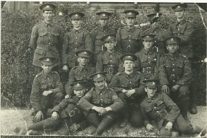 Some of the Parkwood men who served in the Great War