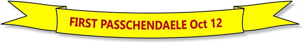 First Oasschendaele October 12, 1917