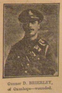Gunner David Brierley