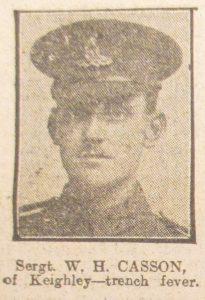 Sergeant W. H. Casson