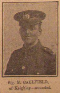 Signaller B. Caulfield