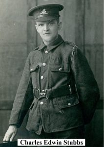 Private Charkes Edwin Stubbs of Oakworth