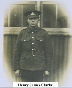 Private Henry James Clarke