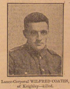 Lance Corporal Wilfred Coates