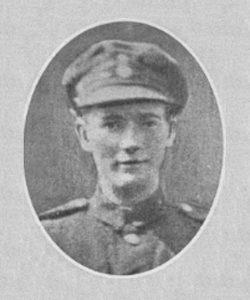 Corporal Robert John (Jack) Coles