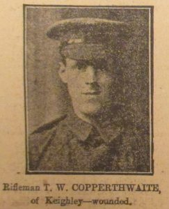 Rifleman T. W. Copperthwaite