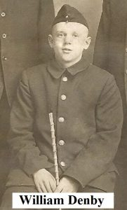 Private William Denby, killed in action 20th September 1917