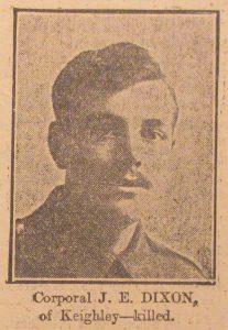 Corporal J. E. Dixon