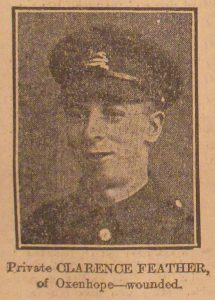Private Clarence Feather