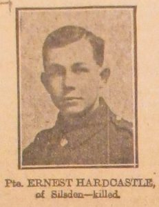 Private Ernest Hardcastle