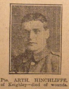 Private Arthur Hinchliffe