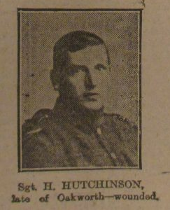 Sergeant Harry Hutchinson