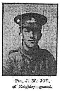 Private John William Joy
