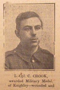 Lance Corporal C. Crook
