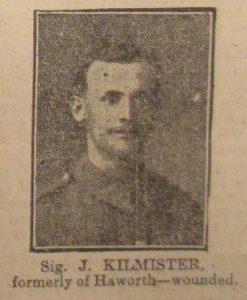 Signaller Joseph Kilmister