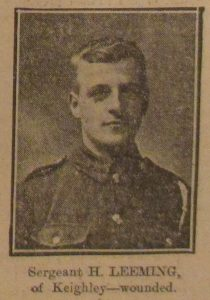 Sergeant H. Leeming
