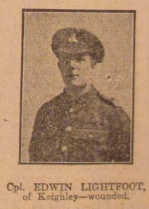 Corporal Edwin Lightfoot