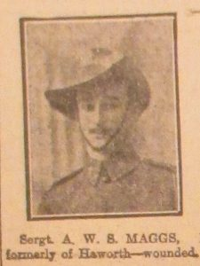 Sergeant A. R. S. Maggs