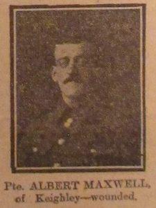 Private Albert Maxwell