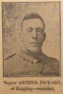 Sapper Arthur Pickard