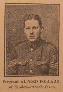 Sergeant Alfred Pollard