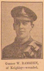 Gunner W. Ramsden