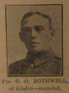Private George Oscar Rothwell
