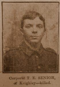 Corporal Thomas Henry Senior