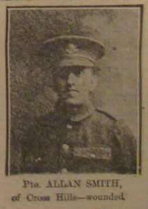 Private Allan Smith of Crosshills