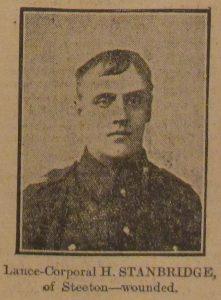 Lance Corporal Henry Stanbridge