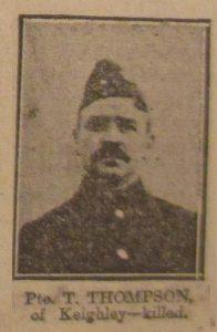 Private Thomas Thompson MM