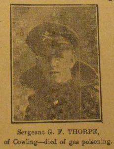 Sergeant George F. Thorpe