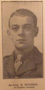 Second Lieutenant Harry Tillotson