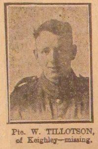 Private W. Tillotson