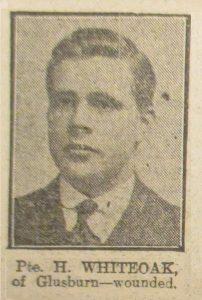Private Harry Whiteoak