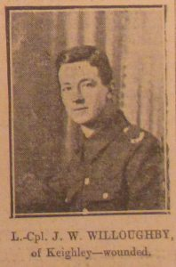 Private J W Willoughby