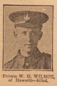 Private W. H. Wilmot