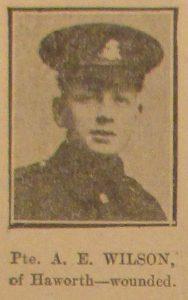 Private Albert E. Wilson